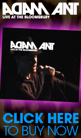 Adam Ant: Live at the Bloomsbury - Click here to buy now